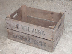 Traditional Bushel Box